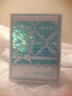 I used the Shimmer Sheetz by Elizabeth craft designs for this card and the layout inspiration was from a card by Jessie Rone.