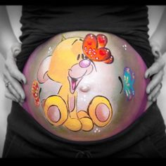 Bellypaint made by Puur Isa