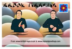 British Sign Language, Sign Bsl, Teaching, Education, Happy Easter, Tutorials, Life, Ideas, Happy Easter Day