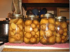 Home-canned potatoes.