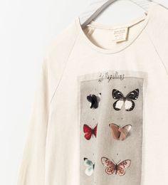 butterfly Tee | Zara