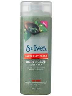 St. Ives Naturally Clear Green Tea Body Scrub