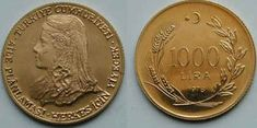 Eski TC Kağıt Paraları ve Madeni Paralar. Turkish Lira, Gold And Silver Coins, Rare Coins, Old And New, Diy And Crafts, Vintage, Old Coins, Coins, Stop It