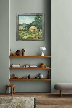 Interior Design Living Room, Living Room Designs, Interior Decorating, Design Interiors, Color Interior, Green Interior Design, Interior Ideas, Decorating Tips, Interior Sketch