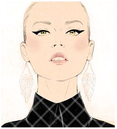 Sandra Suy #fashionillustration #artluxedesigns