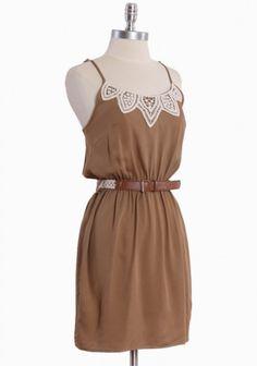 Natural- a cute summer dress...