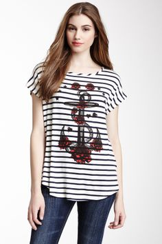 Anchor Graphic Tee - Houtelook