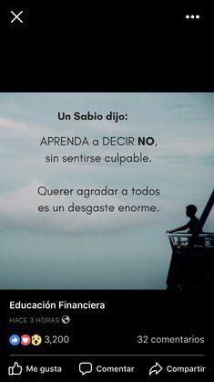 Aprenda a decir no !!