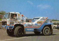 1987 Daf TurboTwin II Dakar - Jan de Rooy