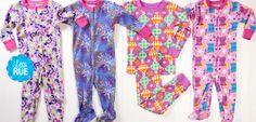Snug as a Bug: Girls' Sleep Sets & Robes. #LittleRue
