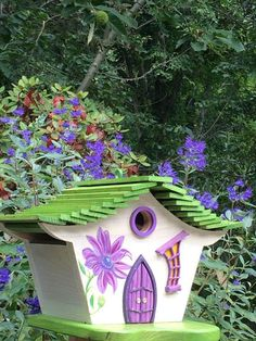 ArtisTree CC's Whimsy Bird House