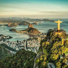 Good morning!  Can't wait for #OlympicGames!  See you very soon #Rio2016... Bom dia!! Mas posso esperar até quinta. Rio estou chegando!