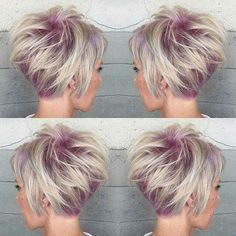 Blonde and light purple.....love this