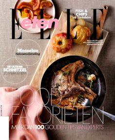 3x Elle Eten € 15,-: In ELLE Eten vind je telkens weer de lekkerste recepten, de nieuwste trends, keukengereedschap en restaurants.