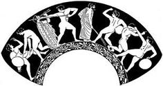 Ancient greek line drawings - Google Search