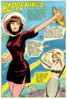 get with it - be a space babe, 1970