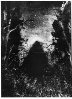 Michael Mazur: Canto I, The Inferno of Dante, monotype. 1992-3.
