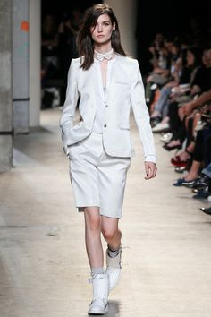 Zadig & Voltaire Spring 2014 Ready-to-Wear Collection Slideshow on Style.com #fashion #style #whiteonwhite