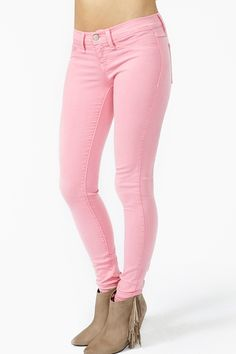 Dream Skinny Jeans in Pink