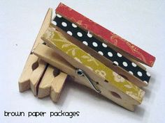 cute clothespin magnets