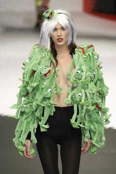 Jean-Charles de Castelbajac at Paris Fashion Week Fall 2009 - StyleBistro