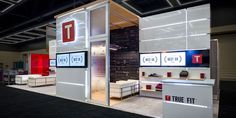 Hill & Partners Rental Branded Environment Trade Show Exhibit for TrueFit