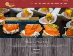 Our new website! Sharing Platters, Cake Bars, Menu, Yummy Food, Canning, Website, Ethnic Recipes, Menu Board Design, Delicious Food
