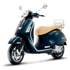 """The Vespa GTS 300 is an uncompromising fusion of breathtaking performance, technical superiority and classic Vespa design. The GTS 300 has 12"""" alloy wheels, front & rear disc brakes and a liquid cooled engine with electronic fuel injection."""