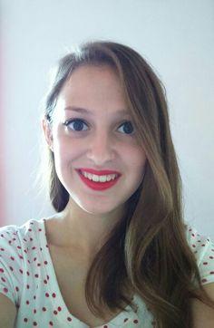 Red lips and feline flick - Revlon Superlustrous lipstick in 069 - Go Chilli