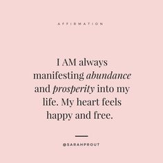 Affirmations | #abundanceaffirmation #positiveaffirmation #prosperityaffirmation