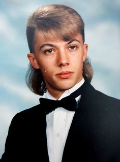 The mullet---a hairstyle that gave white trash a place on the map.