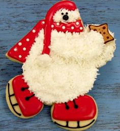 Polar Bear Cookie Tutorial Tutorial on Cake Central