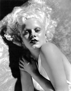 1930s Jean Harlow, by the original glamour shots man, George Hurrell