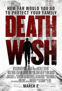 New trailer and poster arrive for 'Death Wish,' the 2018 remake of the 1974 film. Bruce Willis and Elisabeth Shue star in the 2018 version. Hd Movies Online, 2018 Movies, New Movies, Movies To Watch, Good Movies, Drama Movies, Elisabeth Shue, Bruce Willis, Hindi Movies