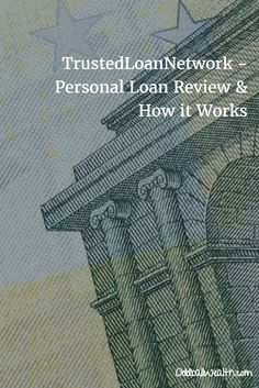 Trusted Loan Network - Personal Loan Review and How it Works. Trusted Personal Loans offers a large network of direct lenders to help you get the loan you need. This saves you the consumer time and energy, and their secure application process keeps all your information protected and safe.  Read Full Review: http://oddballwealth.com/trustedloannetwork-personal-loan-review-works/ #loans #lender #financing #money