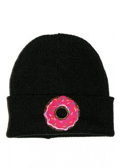 Extreme Largeness Doughnut Patch Beanie, £7.99