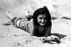 Anne Frank at the beach of Zandvoort, Anne Frank, Margot Frank, Irena Sendler, Wwii, Amsterdam, Shining Star, Beach, Entertainment, People