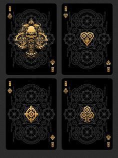 Gambler's Warehouse is raising funds for Bicycle Steampunk Bandits Playing Cards Deck on Kickstarter! Bicycle Steampunk Bandits Playing Cards features 56 Custom Collectable Playing Cards - Printed by the USPCC. Art Design, Graphic Design, Typographie Fonts, Playing Cards Art, Playing Card Design, Bicycle Cards, Bicycle Playing Cards, Steampunk, Pokerface