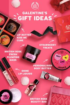 The Body Shop, Body Shop At Home, Galentines Day Ideas, Body Shop Skincare, British Rose, Shop Signs, Body Butter, Bath And Body Works, Beauty Skin
