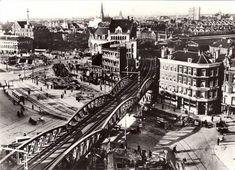 Hofplein Pompenburg Rotterdam voor de 2e Oorlog