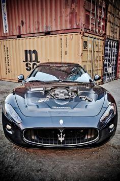 I like the Maserati logo.