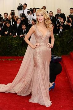 Blake Lively (in Gucci, I believe) ..