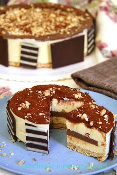 bavarese alle nocciole e cremoso al cioccolato, assembliamo Montersino!