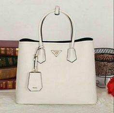 Prada handbag on Pinterest | Prada Handbags, Prada and Burberry ... - prada wallet chalk white
