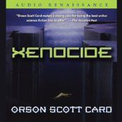 Xenocide is the third installment of the Ender series. On Lusitania, Ender found a world where humans and pequeninos and the Hive Queen could all live together; where three very different intelligent species could find common ground at last. Or so he thought. But Lusitania also harbors the descolada, a virus which kills all humans it infects, but which the pequeninos require in order to transform into adults.