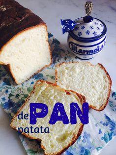 PAN CASERO: PAN de PATATA