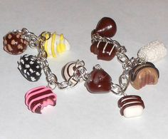 Chocolates Are a Girls Best Friend by HMPrettyLittleJewels on Etsy, $20.00
