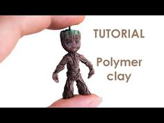 [ENG] Baby Groot Tutorial with clay - YouTube