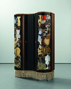 Gio Ponti and Piero Fornasetti - Unique cabinet, 1940