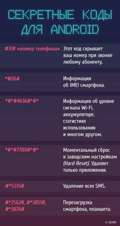 Секретные коды для доступа к скрытым функциям телефона. Обсуждение на LiveInternet - Российский Сервис Онлайн-Дневников